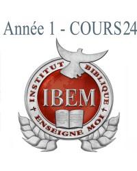 Cours 24: Histoire de la Bible