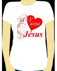 T-Shirt J'aime Jésus