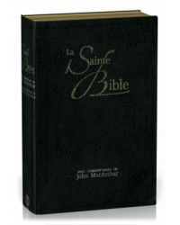 Bible MacArthur - souple noir