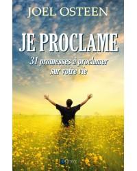 Je proclame - 31 promesses...