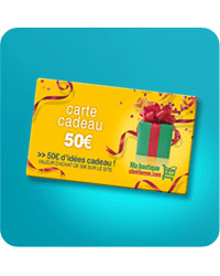 Carte cadeau - Bon de 50 €
