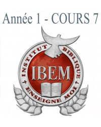 Cours 07 : Doctrines de Base 1