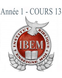 Cours 13 : Doctrines de Base 2